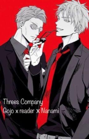 Threes Company.. - Nanami x Reader x Gojo (JJK) by AizensSpermBank