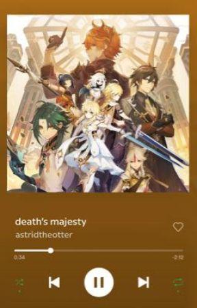 Death's Majesty by astridtheotter