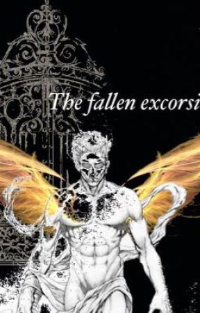 The fallen exorcist.  by saharaH122006