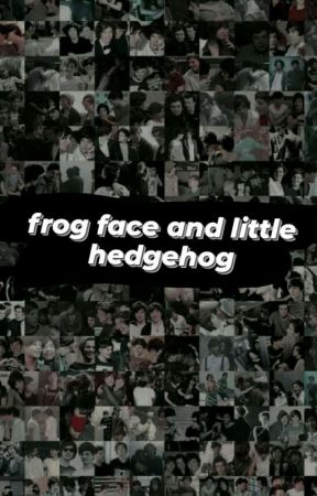 frog face and little hedgehog by harrynin_ruju