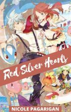 Red Silver Hearts by nikka_flora