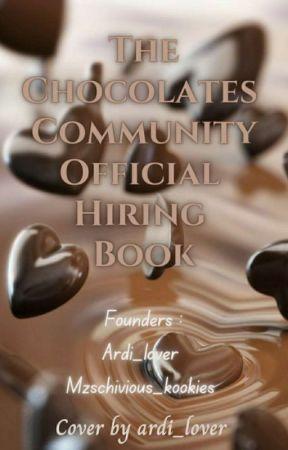 Chocolates Community   Hiring✓ by ChocolatesCommunity