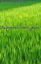 Reasons to touch some grass by doulikethisposition