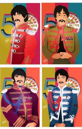 The Beatles' births by PaulMcCartney1