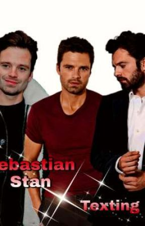 Sebastian Stan Texting by Wandcpeter