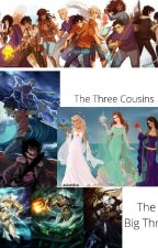 """Percy Jackson and the Olympians meet  """"the original demigods""""  by BunnyFeliciano2"""