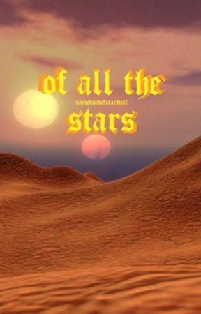 OF ALL THE STARS | Din Djarin by somekindofstardust