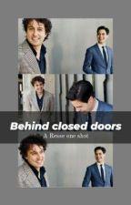 behind closed doors / rob jetten x Jesse klaver Resse one shot  by dropjetten