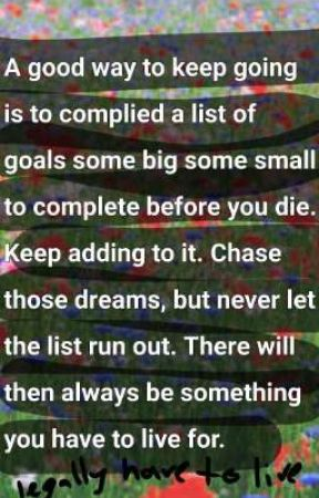 a list of impossible goals by Lams_Forever_900