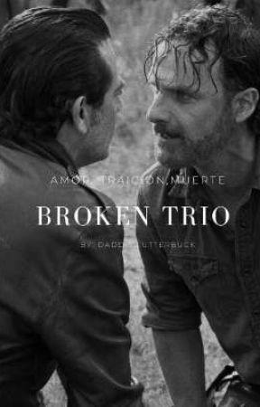 ✧ Broken Trio ─ Rick Grimes  ✧ by daddyclutterbuck