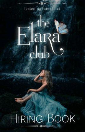 𝐓𝐇𝐄 𝐄𝐋𝐀𝐑𝐀 𝐂𝐋𝐔𝐁 || 𝐇𝐈𝐑𝐈𝐍𝐆  by Elara_Club