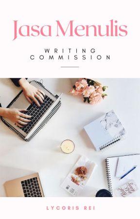JASA MENULIS (Writing Commission) by Lycoris-Rei
