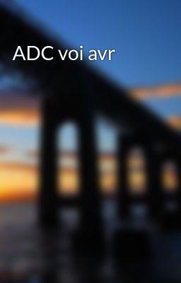 Đọc truyện ADC voi avr