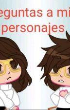 🥀★preguntas a mis personajes de gacha★🥀 by HugoCande