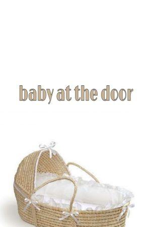 baby at the door by baecha_123