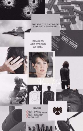 """""""When Does It End"""" (Maria Hill/GipReader) by Nadine_Mendes04"""