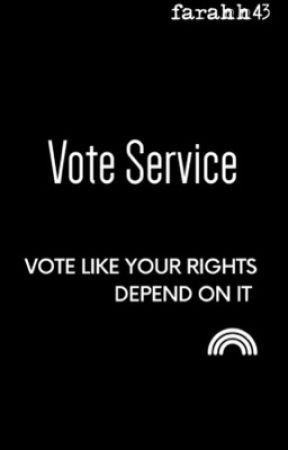 VOTE SERVICE💯 by farahh43