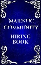 Majestics - Hiring Book by majestic_community