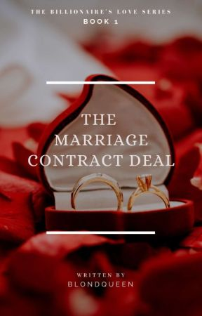ALPHA 1: The Marriage Contract Deal (completed) by BlondQueen