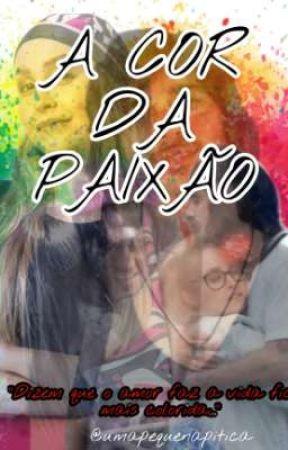 A COR DA PAIXÃO-CARLUK by umapequenapitica