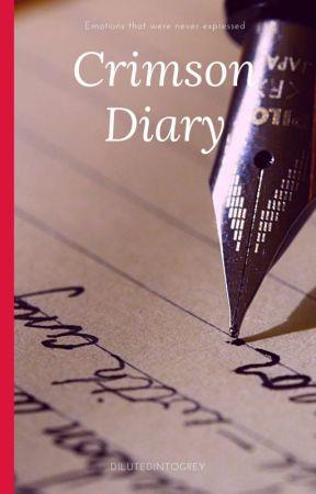 Crimson Diary by dilutedintogrey