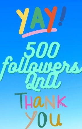 500 followers QnA! by ghostaphobia