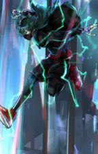 The Lightning God by dragonballhero12343