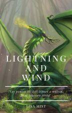 Blue Sakura: Lightning and Wind by Lisa_Mist