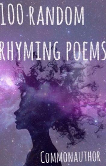 100 random rhyming poems