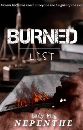 BURNED LIST   [SOON] by Lady_Mrg