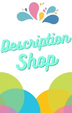 Description Shop by HiJug6789