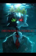 Drowning Under 8'5 | Ranboo x Fem. Reader (not my art) by Dy-lexicgorl