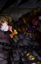 (Human!!!) Nightmare x Nightmare fredbear! by Caroline_Castle