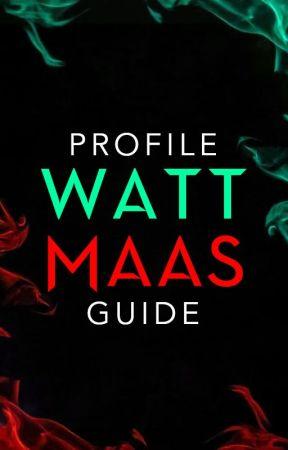 WattMaas Profile Guide by WattMaas