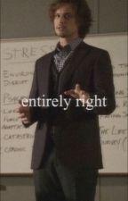 entirely right (professorreidxreader) by cuffedtospencer