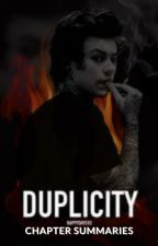 Duplicity Chapter Summaries by nicole4752