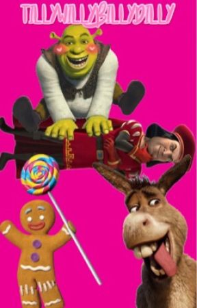 A Wholesome Foursome (Shrek x Donkey x Lord Farquaad x Gingerbread Man) by tillywillybillydilly