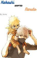 Kakashi adopted Naruto by _Katsu_Kuma_