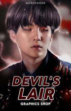 DEVIL'S LAIR   GRAPHICS SHOP  [ ✓ ] by marshgguk