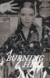 A BURNING HILL, miscellaneous cover