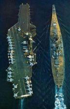 Two Legendary Warships x  Azur Lane by LeeroyTheRossiya