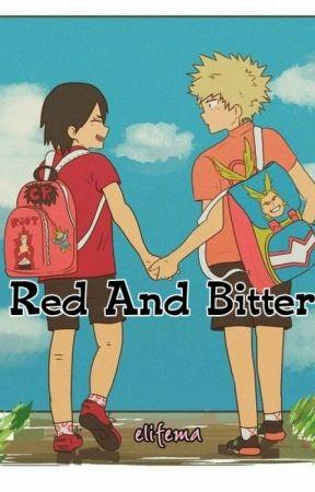 Red And Bitter • KiriBaku by elifema