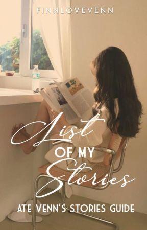 List of my Stories [Guide] by FinnLoveVenn