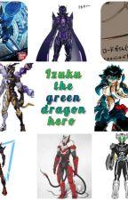 Izuku the Green Dragon Hero by RyuuDragon-015