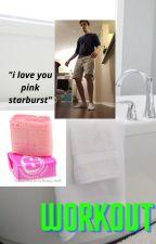 the bathtub x drew gooden x the pink starburst by Introvert_Bunny