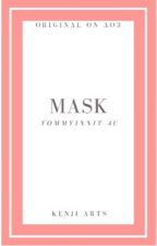Mask Tommyinnit Au   Kenji_Arts by moonlight_silk