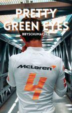 Pretty Green Eyes↠Lando Norris by bbylando