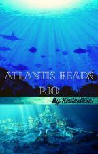 Atlantis reads PJO by KevlarDiva
