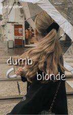 dumb blonde | olivia rodrigo by sti1inski