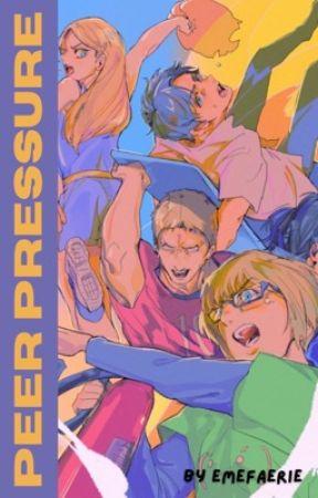 PEER PRESSURE • Eren Jaeger x Reader by emefaerie